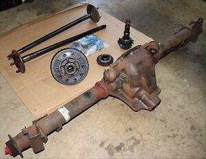 Looking for rear axle for my mustang