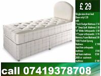 Double / Single / King Size Bed with Mattress