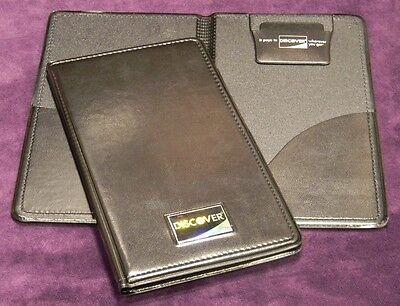 NEW 5 PCS DOUBLE PANEL CHECK PRESENTER DISCOVER LOT CREDIT CARD RESTAURANT BILL