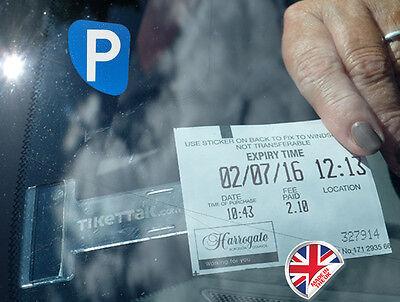 Tikettak - Car permit and ticket holder - Avoid parking fines
