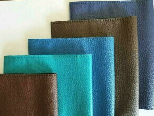 Book Cover Faux Leather GCV (Multiple Colors available)
