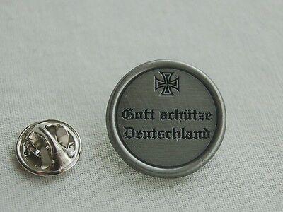 Gott schütze Deutschland Militaria Military Pin Button Badge Anstecker # 357