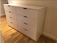 IKEA NORDLI Chest of 8 drawers