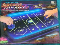 Electronic air hockey glow in the dark Brand new
