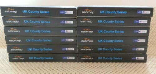 "Ordnance Survey 1:50k Landranger ""County Series"" SD cards for Active 10 & 12"