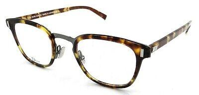 Dior Homme Rx Eyeglasses Frames Black Tie 2.0 O 086 48-24-150 Dark Havana (Dior Eyeglasses Men)