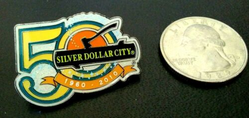 Silver Dollar City Branson Missouri 50th Anniversary 1960-2010 Pin