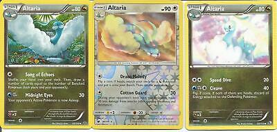 Pokemon Altaria Lot - 80/111 Rev Holo - 92/113 - 53/108 - NM/M