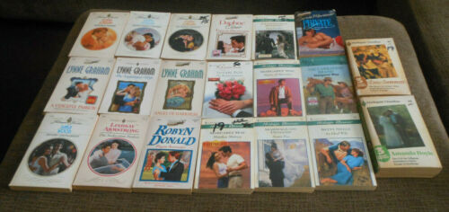 Lot of 20 Harlequin Romance Books Paperbacks