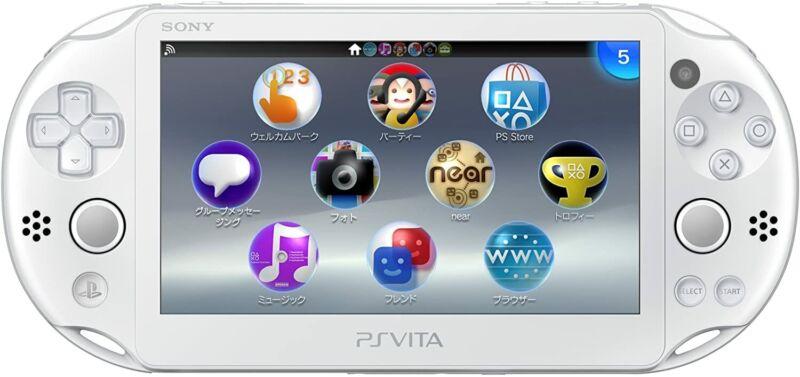 Sony+PS+VITA+Console+PCH-2000+ZA12+Wi-Fi+White+c+W01+PCH-2000+4948872413664+New
