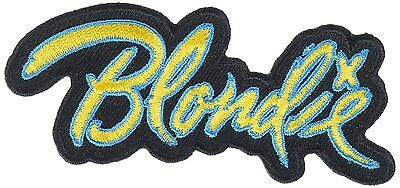 """Blondie Logo Iron On Patch 3.6"""" x 1.5"""" Licensed by C&D Visionary P-1177"""