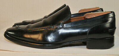 Vintage Gucci Leather Loafers Made In Italy Men's US Size 9 Black