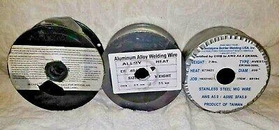 Lot.2 12 Spools Welding Wire.mig.aluminum Alloy .03.35.2 Lbs.5 Kgs.1 New