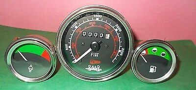 Long Tractors Tachometer Fuel Temp Gauge- 320 350 360 445 460510560610