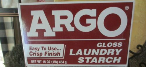 Argo Gloss Laundry Starch 1lb 16 oz 1 Box Best by 7/22/2021 ~ FREE SHIPPING!