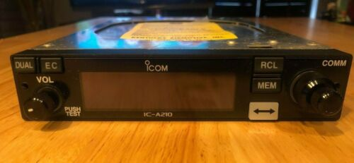 iCom IC-A210 Aircraft Transceiver w/ Yellow Tag