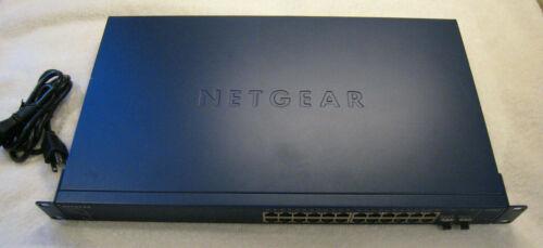 NetGear  ProSafe (GS724TP) 24-Ports External Switch Managed~Power Cord