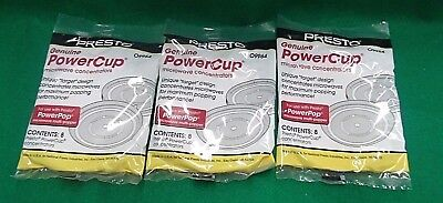 Presto Genuine Power Cup Microwave Popcorn Popper Concentrators 09964 24Pc