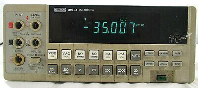 Fluke 8842a Digital Portable Multimeter For Parts Repair