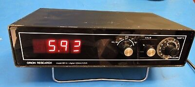 ORION Research 601A Digital Ionalyzer Controller / Works