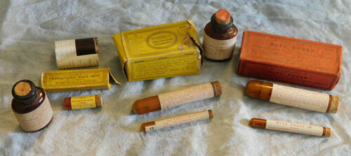Vintage Tabloid Chromium Intensifier Soloid Stain Bromide Print Chemicals