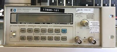 Hp 5384a Frequency Counter Great Working Condition14 Days Money Back