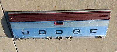1981-1993 Dodge 1st Generation Original Truck D150 D250 D350 Tail Gate Tailgate