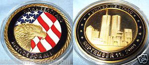 9-11-Coin-Gold-World-Trade-Center-Man-Commemorative-Memorabilia-U-New-York-City