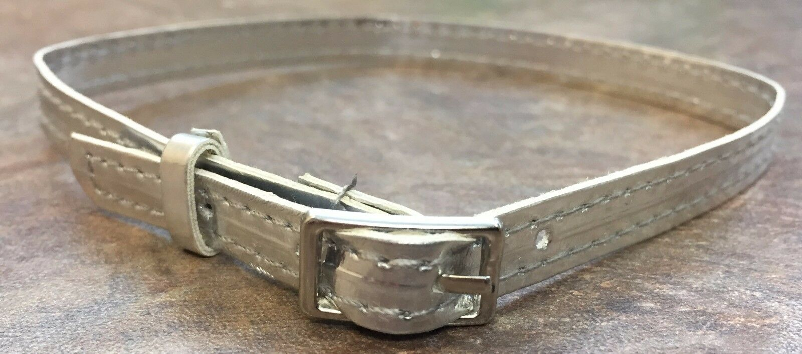 Silver Belt with Buckle for 18 inch American Girl Doll Cloth