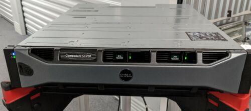 Dell Compellent SC200 12-Bay Disk Array w/12 x 2TB SAS drives & dual controllers