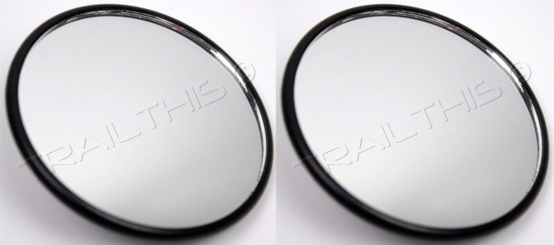 (2) Two Pack of Mirrycle Mountain Bicycle Mirror Replacement Lens with Housing