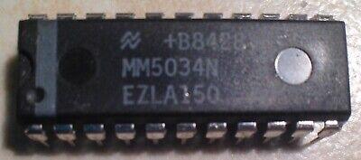 National Mm5034n Octal 80-bit Static Shift Register