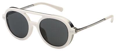 Michael Kors Vail Sunglasses MK 1042U 334287 49 White / Silver   Grey (Michael Kors White Sunglasses)