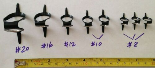 Set of 8 pcs stainless steel turbo guides - Build you own Trolling Rods