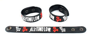 All Time Low  Rubber Bracelet Wristband Free Ship Something's Gotta Give aa183
