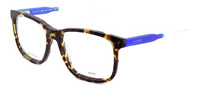TOMMY HILFIGER TH 1392 QRD Men's Eyeglasses Frames 54-17-145 Havana Blue + CASE