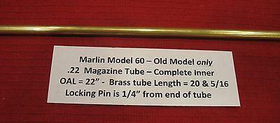 Marlin Model 60  22 Inner Magazine Tube   For Pre 1975 Rifles Part   607222