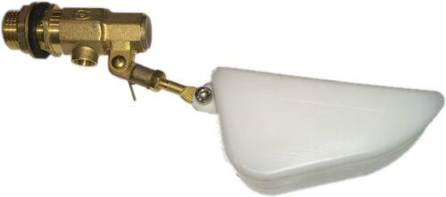 Brass Float Valve Low pressure adjustable animal watering tank mount