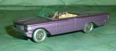Vintage Lesney Toy Matchbox Diecast Pontiac Convertible No.39 Great Condition