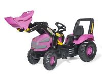Rolly Pink Xtrac Tractor with Loader