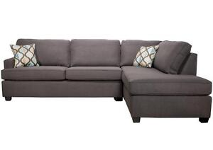 CANADIAN MADE FABRIC SECTIONALS ON SALE (AD 289)