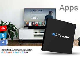 Alfawise S92 TV Box Octa Core Amlogic S912 Android 6.0 2.4G 5.8G Dual WiFi 4.0 LAN VP9-10 H.265