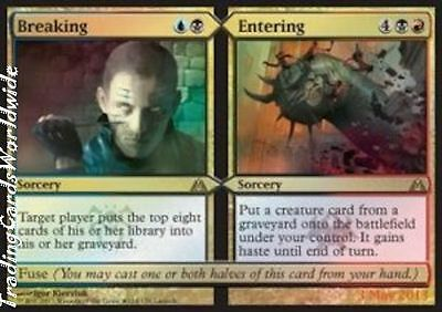 Breaking // Entering // Foil // NM // Release Promos // engl. // Magic Gathering