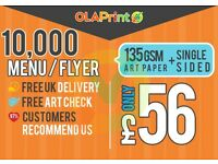 Cheap Flyer Printing London UK | Menu Printing | NCR Pads | Brochures | Posters | FAST DELIVERY