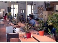 Affordable Coworking desk in Hackney Wick in a friendly coworking community!