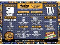 4x Mutiny Festival 2017 Sunday Tickets for Sale
