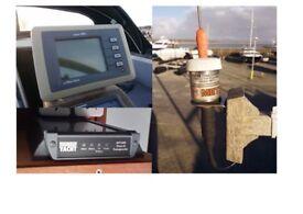 AIS Class B Transponder + Display + Hi Gain Antenna