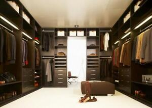 CUSTOM CANADIAN MADE FURNITURE, CLOSET ORGANIZERS, WARDROBES, CABINETS, PANTRIES, DRESSERS & MORE! FREE DESIGNS & QUOTES