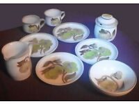 Collectable Denby Stoneware Green Troubadour , 10 Pieces Just £20, Available now in Bradford on Avon