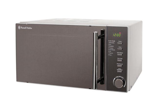 Russell Hobbs 20 Litre Silver Digital Microwave, 800W, 5 Power Levels, RHM2017